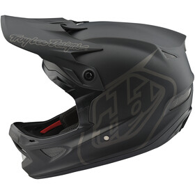 Troy Lee Designs D3 Fiberlite Helmet mono/black